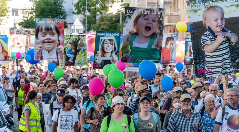 Erfolgreicher Marsch fürs Läbe in Zürich